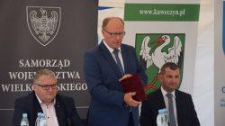 Ciemień (gm. Kawęczyn): podpisanie umowy | Krzysztof Grabowski, Jan Nowak