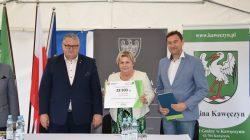 Ciemień (gm. Kawęczyn): podpisanie umowy | Krzysztof Grabowski, Krzysztof Roman