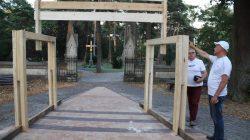 Brama jubileuszowa na 100-lecie parafii Galew