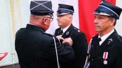 Odznaczenia dla strażaków OSP Turek. Przy okazji obchodów rocznicy 100-lecia Bitwy Warszawskiej odznaczenia za zasługi dla pożarnictwa otrzymali druhowie z OSP Turek.