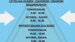 Biblioteka Turek - godziny otwarcia