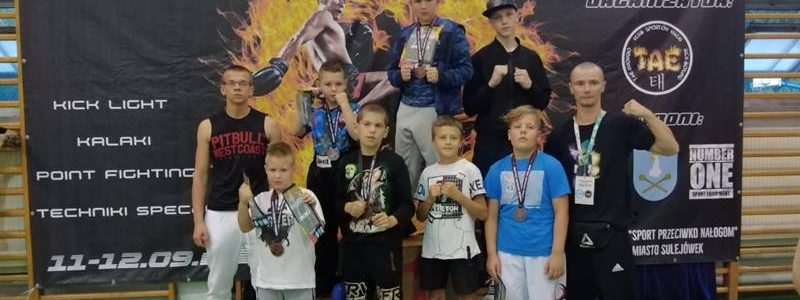 Striker na European Kickboxing Challenge w Sulejówku
