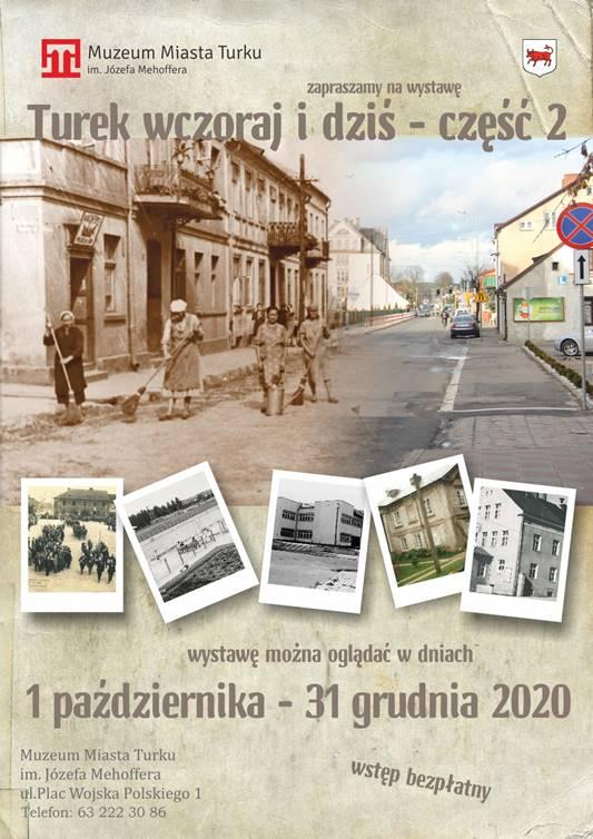 """Jesteś tutaj: Strona główna » Aktualności » Wystawa """"Turek wczoraj i dziś"""". Ponad 200 fotografii miasta oraz filmy Wystawa """"Turek wczoraj i dziś"""""""