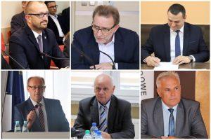 Romuald Antosik, Cezary Krasowski, Tadeusz Gebler, Jan Nowak, Mirosław Broniszewski, Karol Mikołajczyk