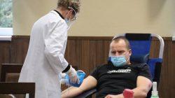 Kalinowa. Zbiórka krwi