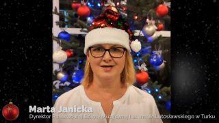 Koncert świąteczny PSM w Turku: dyrektor Marta Janicka
