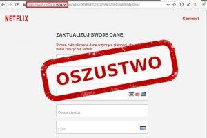 Oszustwo - wyłudzenie danych