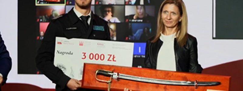 Konkurs historyczno-filmowy Patria Nostra - sukces ZSR Kaczki Śr.