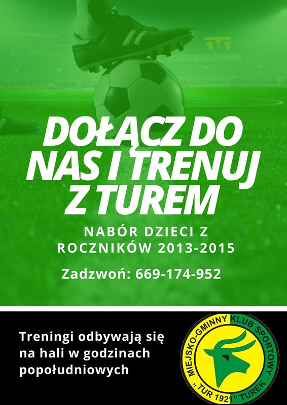 Dołącz do nas i trenuj z Turek