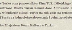 Jarząbek Wacław - wpis dyrektora MDK Turek Pawła Siwińskiego