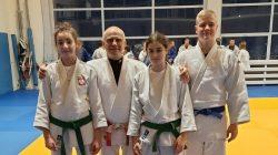 UKS Judo Tuliszków na zgrupowaniu w Żywcu | drugi od lewej: Marian Tałaj