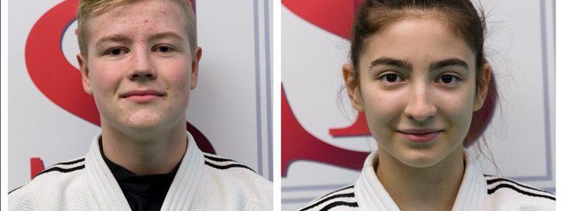 Zawodnicy UKS Judo Tuliszków powołani do kadry narodowej juniorów młodszych: Jan Antoniewicz, Julia Kocimska