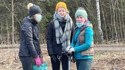 Leśnictwo Grzymiszew - akcja sadzenia drzew