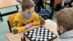 Mistrzostwa Szkoły Podstawowej w Przykonie w warcaby