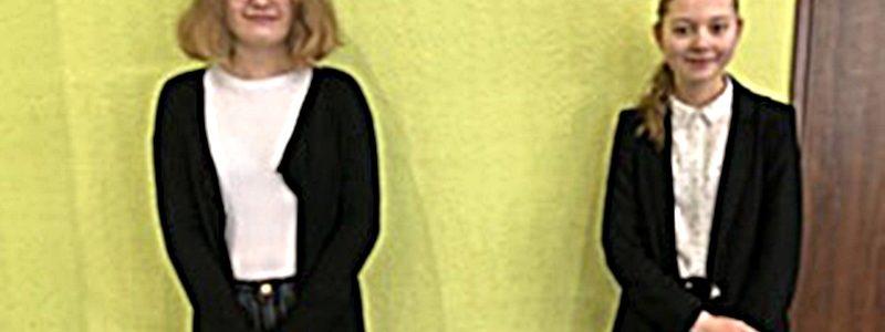 Martyna Milczarek i Martyna Wesołowska