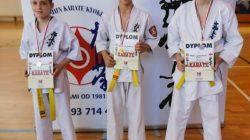Zawodnicy KSiSW na zgrupowaniu Kyokushinkai Karate