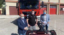 PO ostrzega: PiS dzieli strażaków OSP na lepszy i gorszy sort   Od lewej: Dariusz Młynarczyk, Dominik Rogodziński, Tomasz Nowak