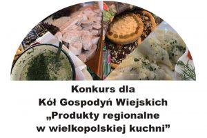 Konkurs dla KGW - plakat