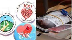 krwiodawcy na 100-lecie parafii Galew