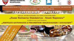 Nasze Kulinarne Dziedzictwo - Smaki regionów - Dobra 2021 (plakat)