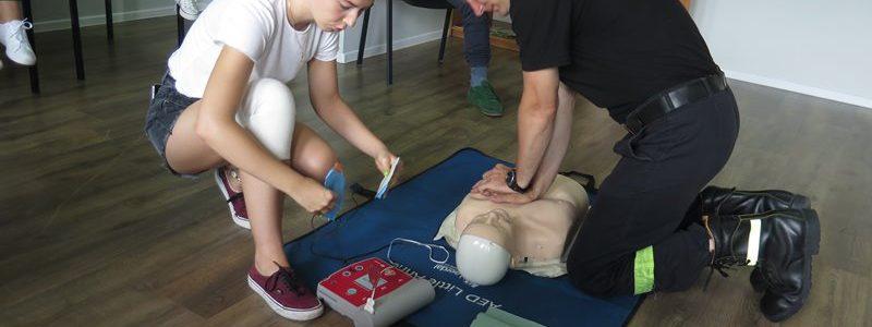 Szkolenie z pierwszej pomocy w OHP Turek