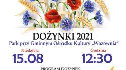 Brudzew. Dożynki 2021 (plakat)