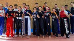 Mieszkaniec Turkowic na konsultacjach kadry narodowej kickboxingu