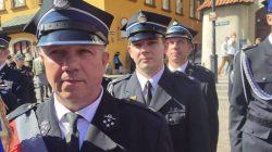 OSP Turek na obchodach 100-lecia w Warszawie | od lewej: dh Tadeusz Wojciechowski